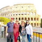 Durante viagem a Itália padre fazia planos para o futuro e rezava para Santa Tereza
