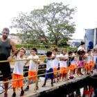 ONG Ágape vista Estação de Tratamento de Água