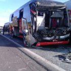 Acidente com ônibus deixa 25 feridos em Limeira