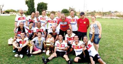 Santo Antônio é campeão de futebol veterano