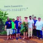 Centro Comunitário Santo Rossetti  recebe plantio de mudas