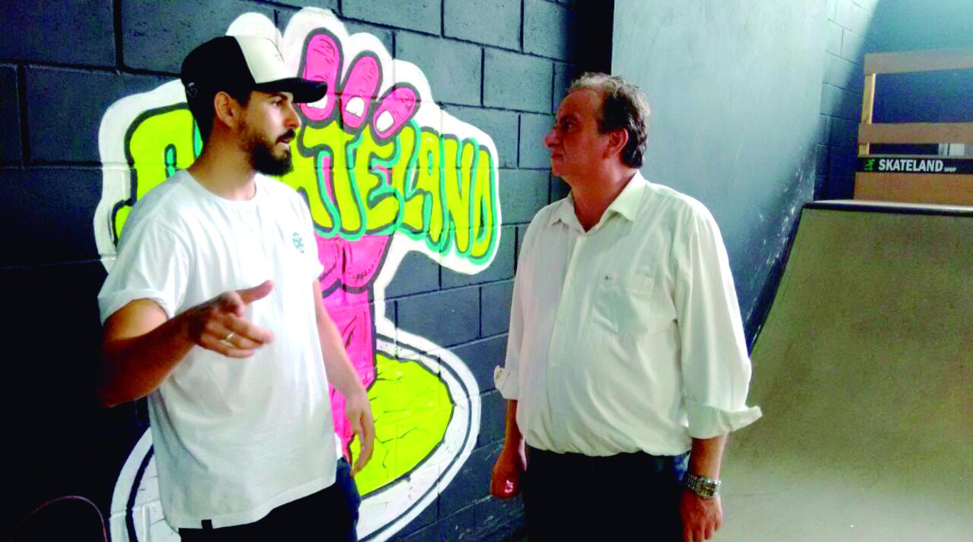 Deputado faz gestão para concluir pista de skate de Iracemápolis